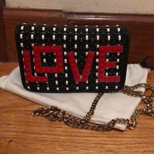Les Petits Joueurs Mini Leather LOVE Bag